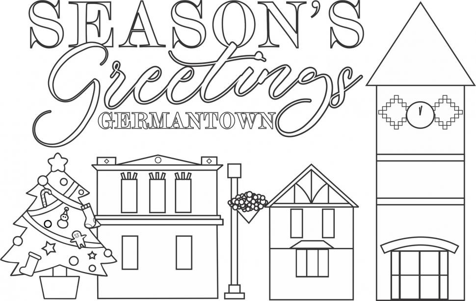 Christmas Coloring Sheets - For ADULTS & Kids! Kids Out And About  Milwaukee