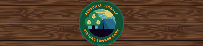 personal finance camp badge